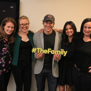 "Q&A with the Cast of ABC's THE FAMILY + Tonight's Episode ""Sweet Jane"" #ABCTVEvent #TheFamily"