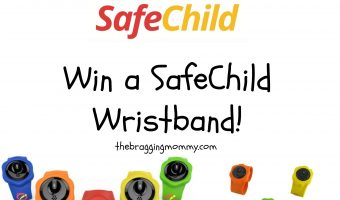 SafeChild Wristband Review and Giveaway