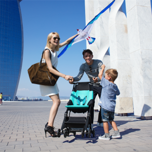 The #gbPockit Stroller is Perfect for #FamilyTravel