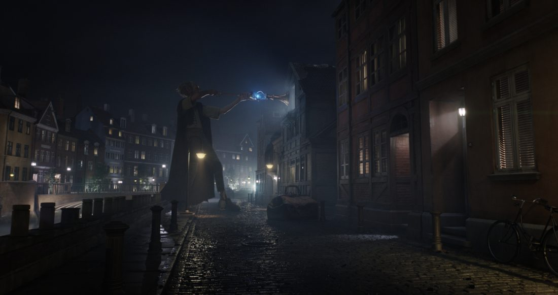 In Disney's fantasy-adventure THE BFG, directed by Steven Spielberg and based on the best-selling book by Roald Dahl, the Big Friendly Giant (Oscar (R) winner Mark Rylance) from Giant Country, visits London at night when the city is asleep.  The film opens in theaters nationwide July 1.