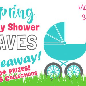 Spring Baby Shower Faves Giveaway! 50+ prizes, 5 gift collections, 5 winners!