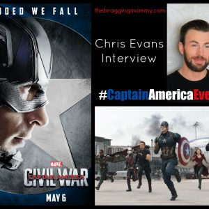 An Interview with Captain America Himself, Chris Evans! #CaptainAmericaEvent