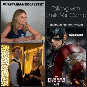 Interview with Emily VanCamp About Her Role in Captain America Civil War #CaptainAmericaEvent