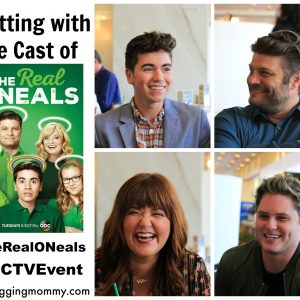 Chatting with the Cast of ABC's The Real O'Neals #ABCTVEvent #TheRealONeals
