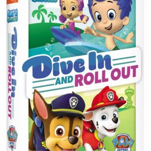 Bubble Guppies & Paw Patrol Dive In and Roll Out 2 DVD Gift Set Giveaway (4 win!)