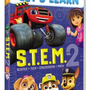 Nickelodeon Let's Learn S.T.E.M. Vol 2 DVD Giveaway