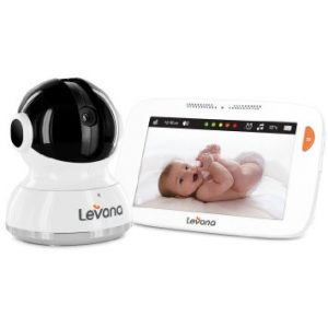 "Levana Willow™ 5"" HD Touchscreen PTZ Video Baby Monitor Review"