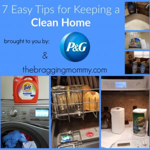 7 Easy Tips for Keeping a Clean Home #PGDetailsMatter