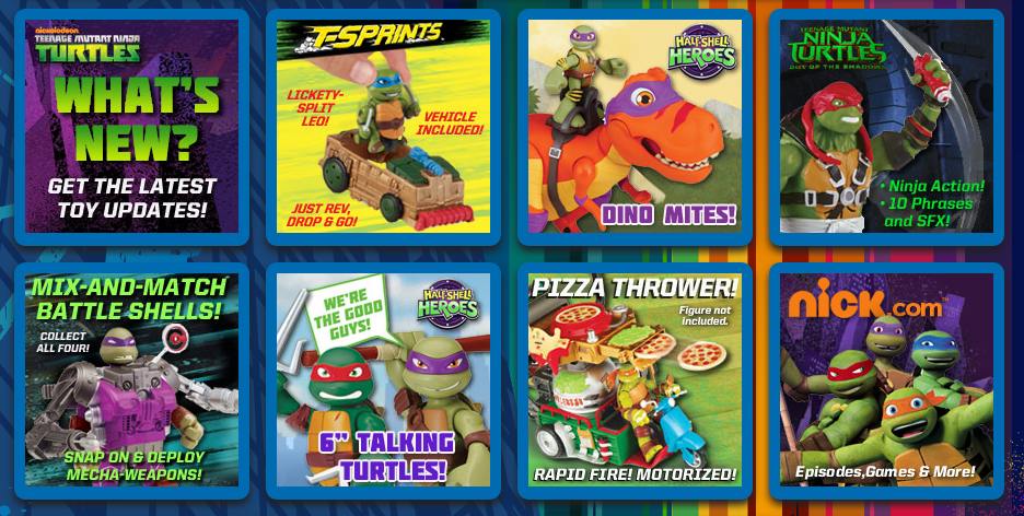 Playmates Toys Teenage Mutant Ninja Turtles Out Of The