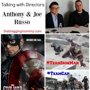 Talking with the Directors of Captain America Civil War #CaptainAmericaEvent #TeamIronMan
