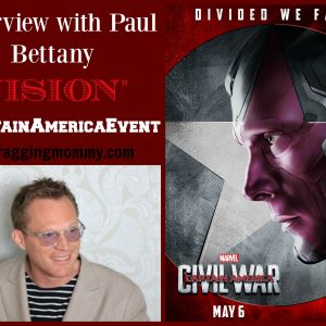 Interviewing Vision ~ Paul Bettany #TeamIronMan #CaptainAmericaEvent
