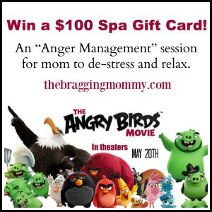 Happy Mother's Day from the #AngryBirdsMovie + $100 Spa Gift Card Giveaway!