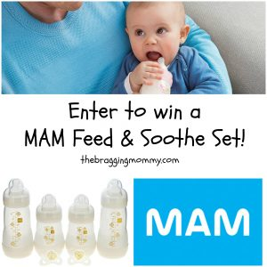 MAM Baby Products Feed and Soothe Gift Set Review and Giveaway
