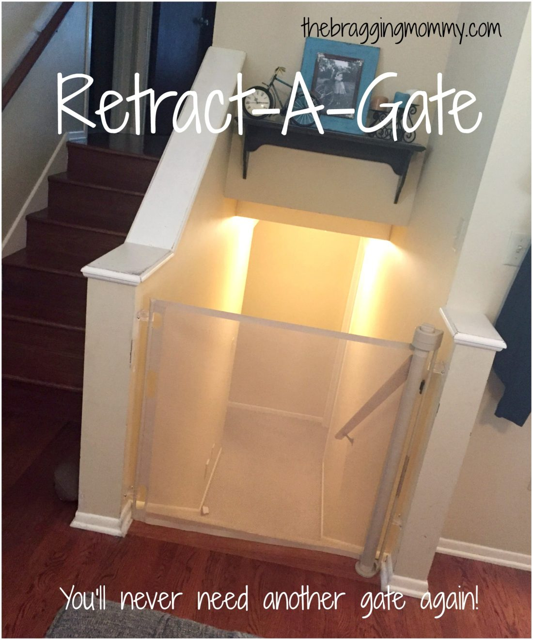 Smart Retract Retract A Gate Retractable Safety Gate For