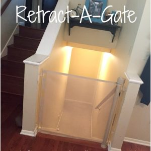 Smart Retract Retract-A-Gate Retractable Safety Gate for Kids and Pets Review