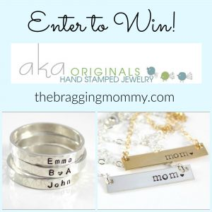 aka Originals Personalized Necklace or Ring Giveaway (Winner's Choice)