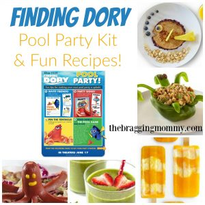 Finding Dory Printables ~ Pool Party Kit & Super Fun Recipes #FindingDoryEvent #FindingDory