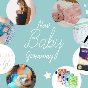 New Baby Giveaway ~ 8 Wonderful Prizes for Mom & New Baby