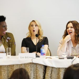 Talking with the Stars of #Ghostbusters and the talented staff! #Ghostbloggers