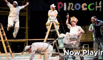 Pinocchio NOW PLAYING at the Children's Theatre Company in Minneapolis!