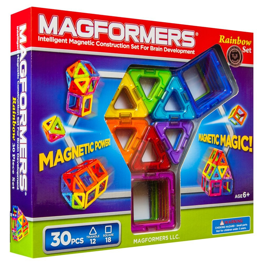 Best Building Toys For Boys : Magformers magnetic construction sets review and giveaway