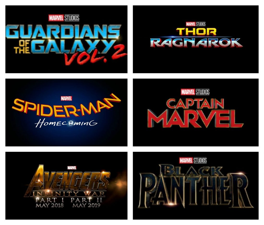 marvel film list upcoming