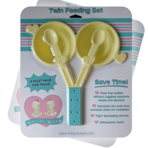 Baby A & Baby B Twin Feeding Set + Giveaway!