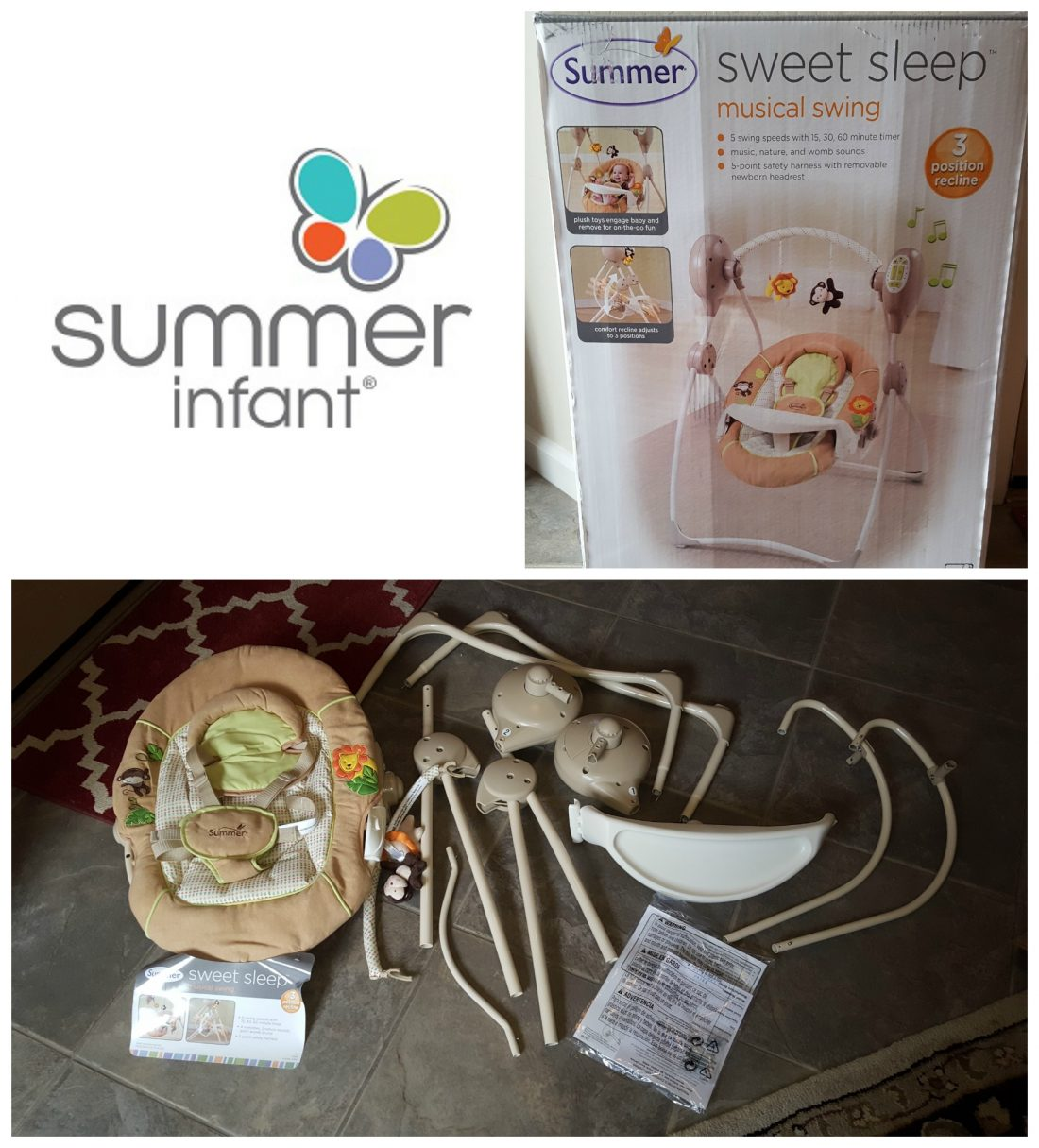New Must Have Baby Items From Summer Infant! + Sweet Sleep Musical