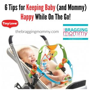 6 Tips for Keeping Baby (and Mommy) Happy While On The Go