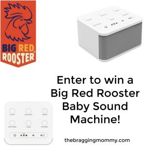 Big Red Rooster Baby Sound Machine Review and Giveaway