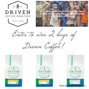 Driven Coffee Roasters Review, Discount and Giveaway