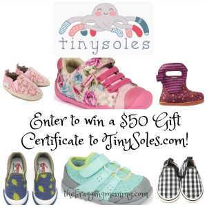 TinySoles Baby and Kids Shoes Review and Giveaway