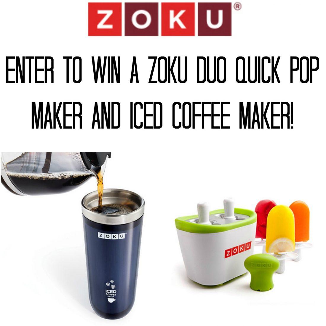 Zoku Iced Coffee Maker Recipes : Zoku Duo Quick Pop Maker & Iced Coffee Maker Review and Giveaway