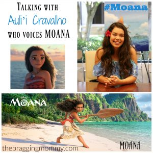Talking with Auli'i Cravalho the Voice of MOANA #Moana