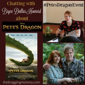 Chatting with Bryce Dallas Howard About Her Role in Disney Pete's Dragon #PetesDragonEvent
