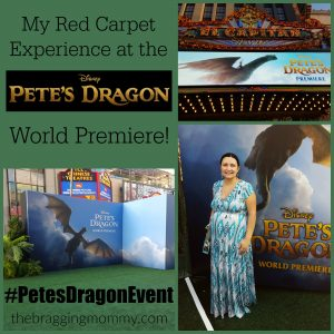 My Experience Attending the Red Carpet World Premiere of Disney PETE'S DRAGON! #PetesDragonEvent