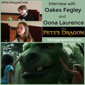 "Talking Pete's Dragon with Oakes Fegley ""Pete"" & Oona Laurence ""Natalie"" #PetesDragonEvent"