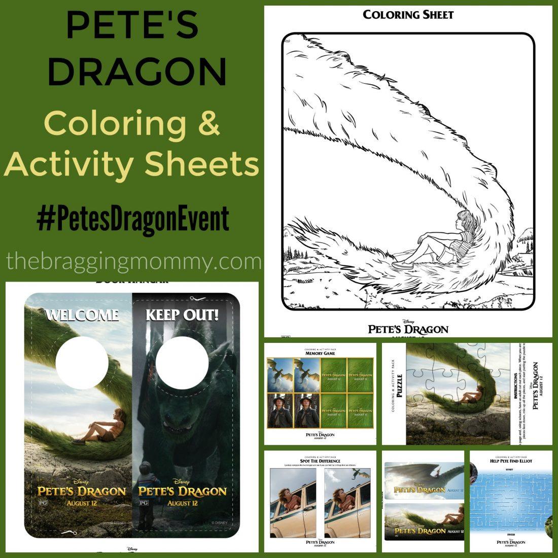 petesdragoncoloring&activitysheets