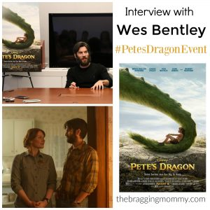 Interview with Wes Bentley From Disney PETE'S DRAGON #PetesDragonEvent