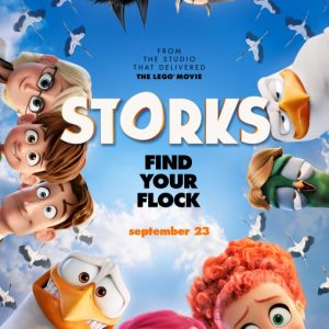 Storks Movie Review ~ Now Playing in Theaters! #STORKS