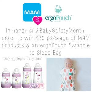 September is #BabySafetyMonth – MAM Products Shares Recommendations For A Safe Sleep Environment to Help You and Baby Rest Easier at Night (and Giveaway Prize Pack!)