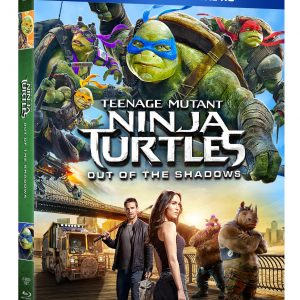Teenage Mutant Ninja Turtles: Out of the Shadows Blu-ray Giveaway #TMNT2