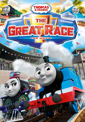 Thomas Amp Friends The Great Race Dvd Giveaway 5 Winners