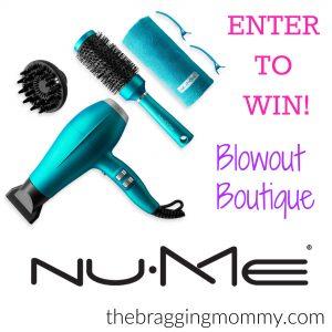 NUME Blowout Boutique Giveaway ($269 Value!)