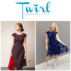The perfect dress at Twirl Dress Boutique