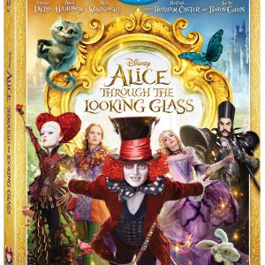 Disney's ALICE THROUGH THE LOOKING GLASS is now available on Blu-ray & Digital HD! #ThroughTheLookingGlass