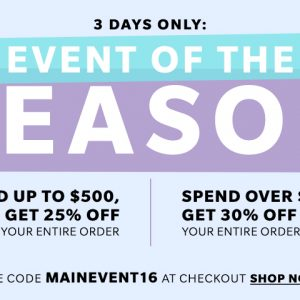 You Won't Want to Miss this Shopbop Sale! Up to 30% Off Your Entire Purchase!