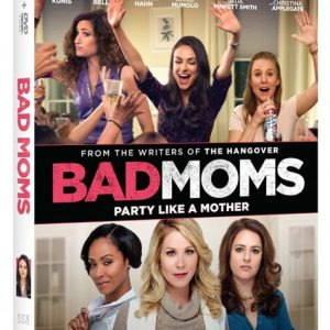 Bad Moms Blu-ray Giveaway (2 Winners!) #BadMoms