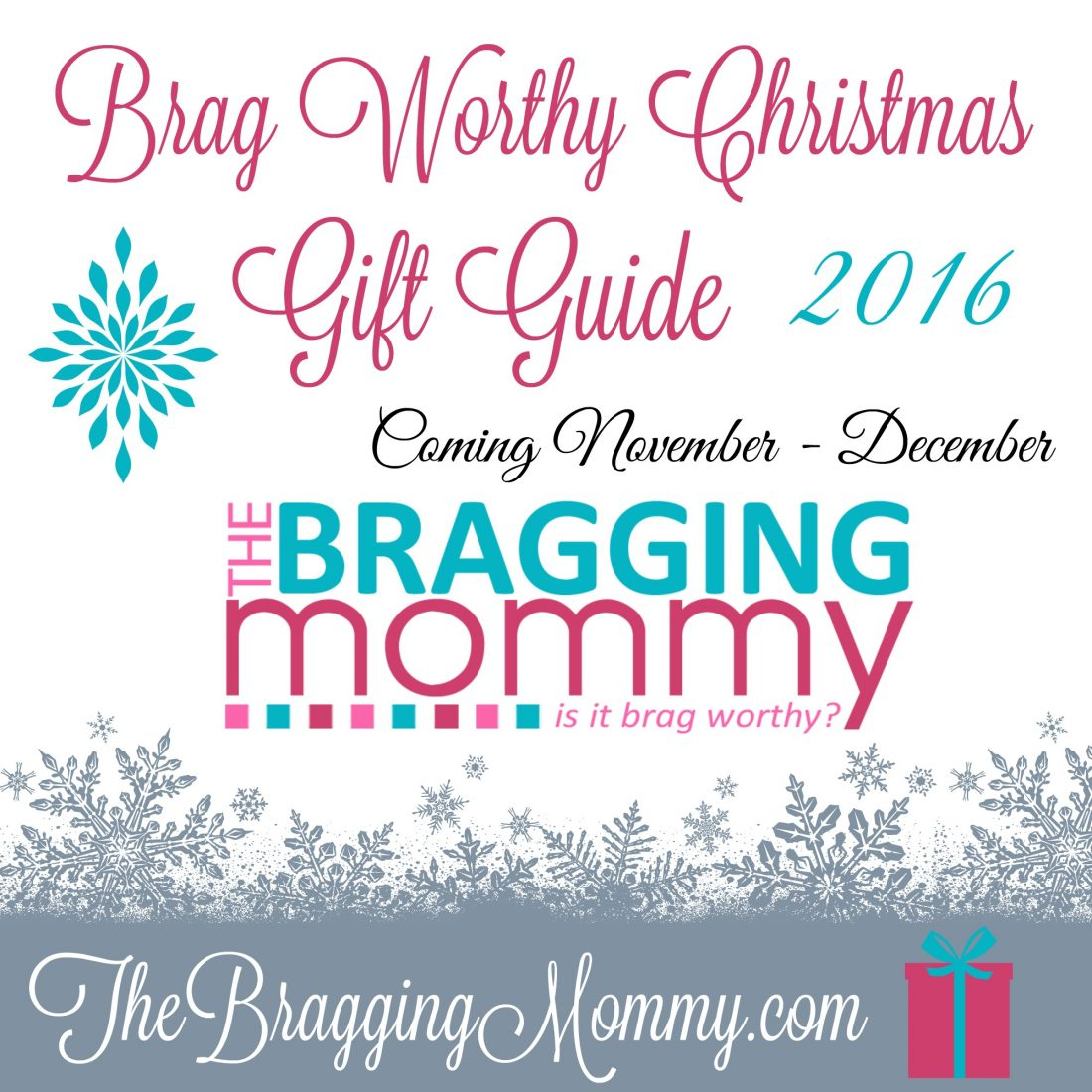 brag worthy christmas coming nov-dec-2016