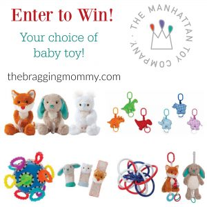 Fun New Baby Toys from Manhattan Toy! + Baby Toy of Choice Giveaway